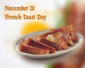 Special days for breakfast food: Too Good to Celebrate only ONCE a Year!